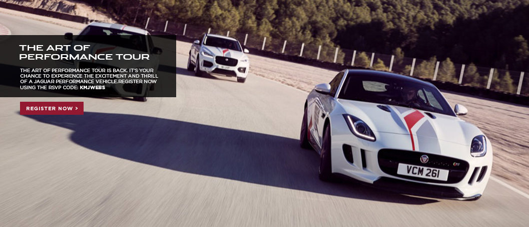 Jaguar Art of Performance Slider