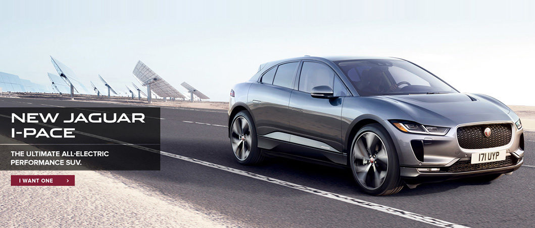 The Jaguar I-PACE